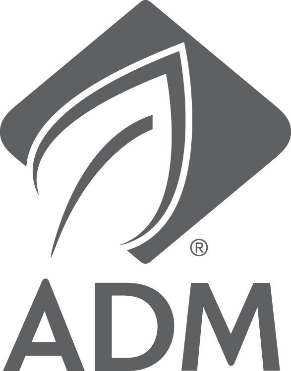 ADM logo dark gray PMS