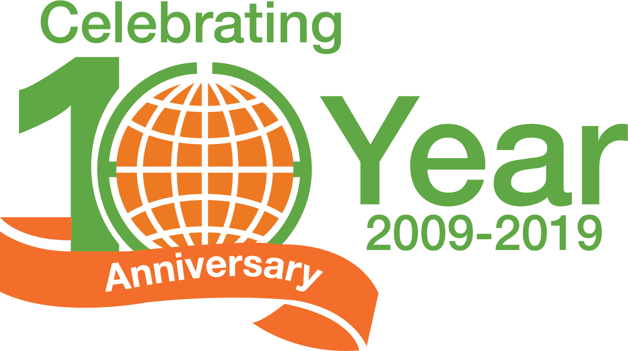 Tenth Anniversary logo